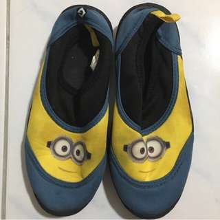 Minions Watersports Shoes KIDS 8inches Long And 3inches Wide Depends On Size Of Feet (repriced Fr 499)