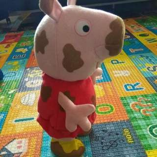 Jumping and talking peppa pig