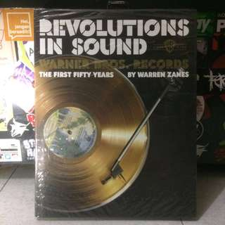 'REVOLUTIONS IN SOUND' Warner Bros.Records 'the first fifty years' by Warren Zanes #book