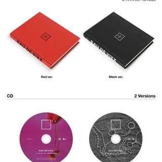 Vixx EAU DE VIXX album pre order