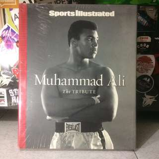 Sport Illustrated 'MUHAMMAD ALI' The Tribute #books