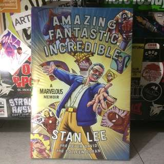 """""""STAN LEE"""" Amazing Fantastic Incredible, A Marvelous Memoir and Peter David and Colleen Doran by; touchstone #books"""
