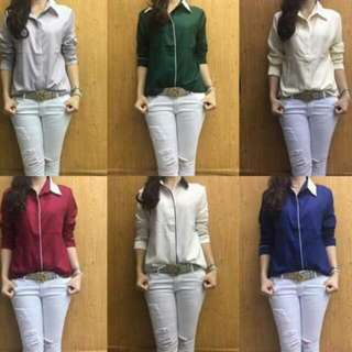 Polo Blouse For Ladies