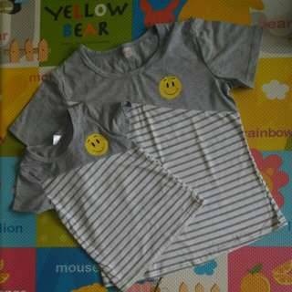 Matching top for mother and child