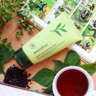 Green Tea Cleansing Foam 30ml / 4ml - Innisfree Mini Travel Size