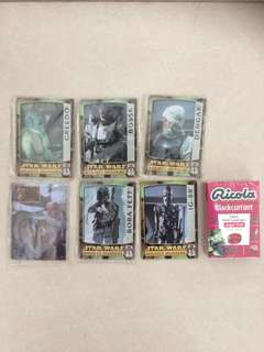 Star Wars Metal Cards Collection