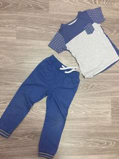 Boys 1 set T-shirt & pants