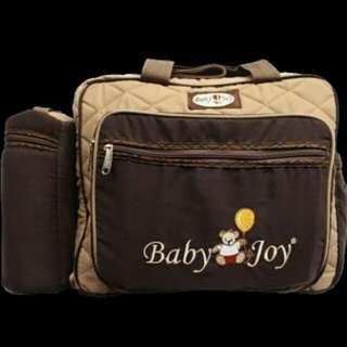 Diapers bag baby joy