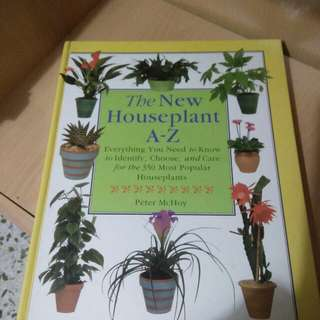 Houseplants hardcover book