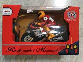 Radio control motorcycle