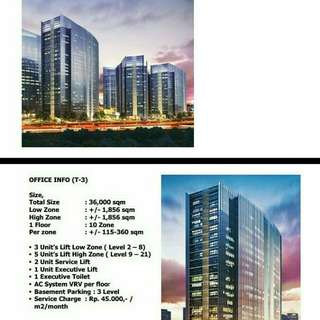 Office Towers and Luxury Apartments at CBD of West Jakarta