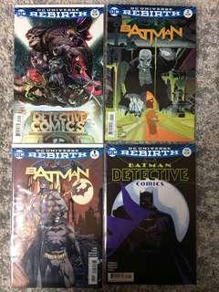 Batman DC rebirth bundle
