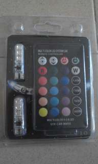 Led color remote controller