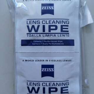 Zeiss disposable wipe (10 pcs)
