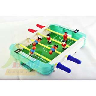 *FREE DELIVERY to WM only / Ready stock* Kids mini table football games each as shown design/color. Free delivery is applied for this item.