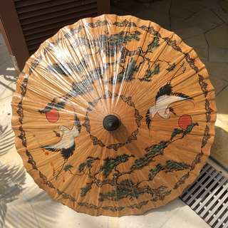 Bamboo oil paper umbrella