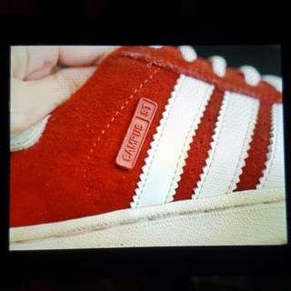 NAME YOUR PRICE | Preloved Original Adidas Campus St (Red)