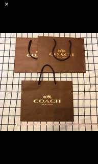 🚚 Coach紙袋