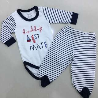 Baby Hippo Romper with Pant