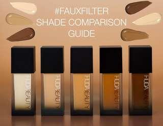 Huda Beauty Liquid Foundation Full Coverage 35ml 💕
