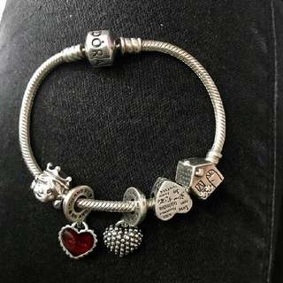 RUSH SALE! Pandora bracelet and charms