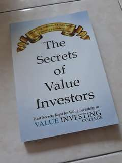 The Secrets of Value Investors