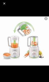 Baby food steamers and processors
