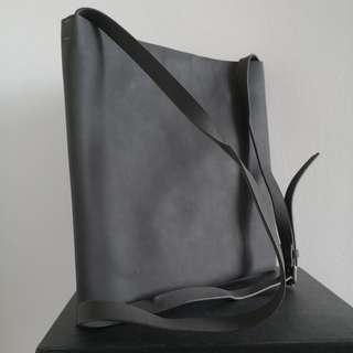 CK Calvin Klein PVC messenger bag