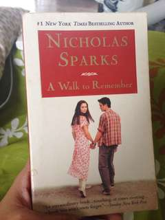 Nicholas Sparks' A Walk To Remember
