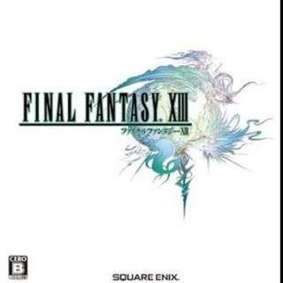 Final Fantasy 13 Chinese / English