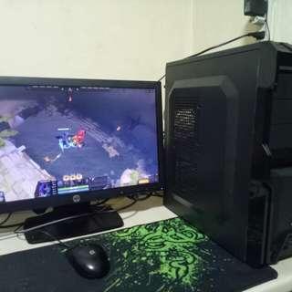 intel g620 2nd gen 20inc led hp monitor
