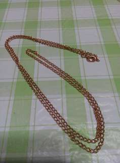 """31"""" long necklace (gift for each purchase)"""