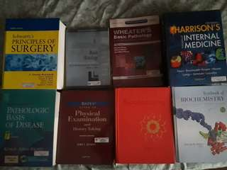 Assorted Medical Books