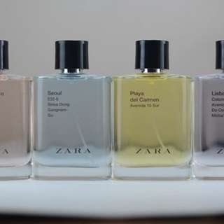 Parfum Zara super fresh scent