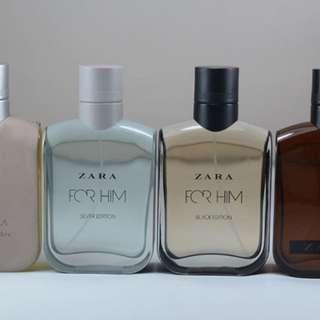 Parfum Zara men new collectio
