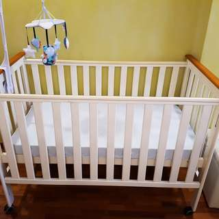 Preloved Baby Cot - Catalina 3 in 1 Crib