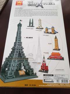 Lego-like Build Famous Structures! P2279 each
