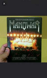 Dvd Live Manowar Original The Absolute Power