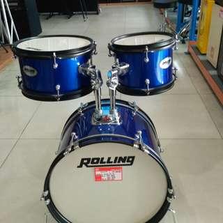 Rolling Drum Set Children