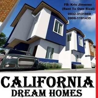 Affordable california dream homes house and lot near quezon city.1 ride deon marikina.cubao.stalucia mall