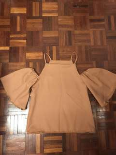 NEW KHAKI STYLISH TOP