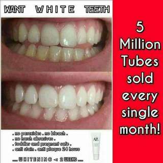 Safe and effective whitening toothpaste