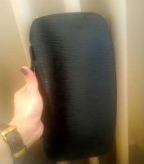 Epi leather Louis Vuitton unisex all-in-one organizer checkbook holder no date code