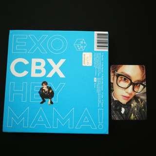 Hey Mama album Baekhyun cover