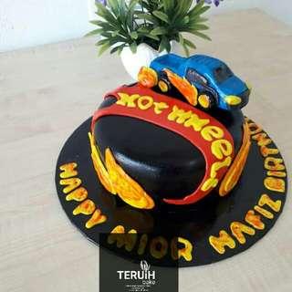 Hot wheel cake..