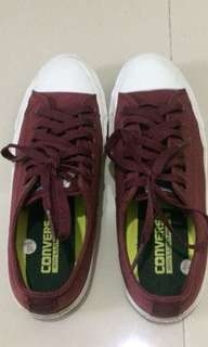 Sepatu Converse CT II Maroon