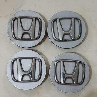 SET OF 4 HONDA CRV CENTER WHEEL HUB CAPS