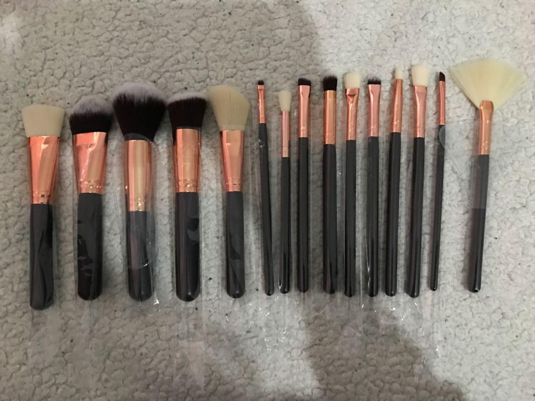 15pcs Makeup Brushes