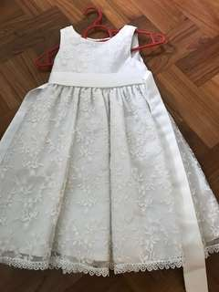 Flower Girl Dress Size 110