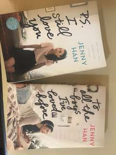 Jenny hans P.s i still love you book